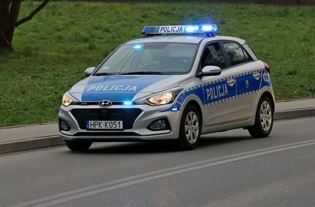 Rowerzysta w Głowience miał 4 promile alkoholu we krwi.