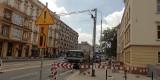 Zamknięto fragment jezdni w centrum Wrocławia