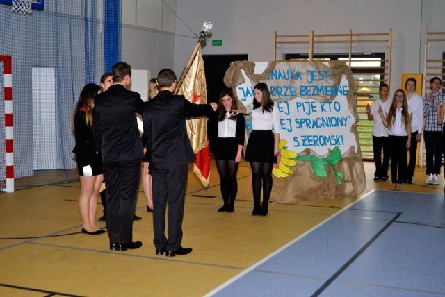 Za nami uroczyste ślubowanie uczniów klas pierwszych Zespołu Szkół im. Żeromskiego w Darłowie.