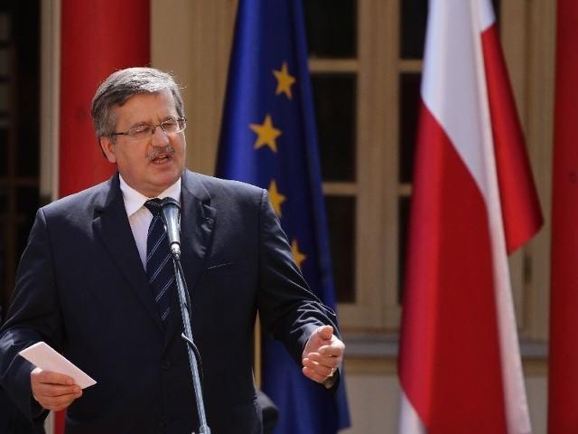 podczas wigilii polskiej prezydencji w Krasnogrudzie