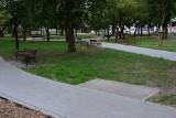 Dewastacje i kradzieże w nowym parku w Mątwach. Mieszkańcy apelują o monitoring