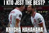 Polska - Albania MEMY Lewandowski i Krychowiak wstrząsnęli kibicami. Wynik lepsza niż żenująca gra