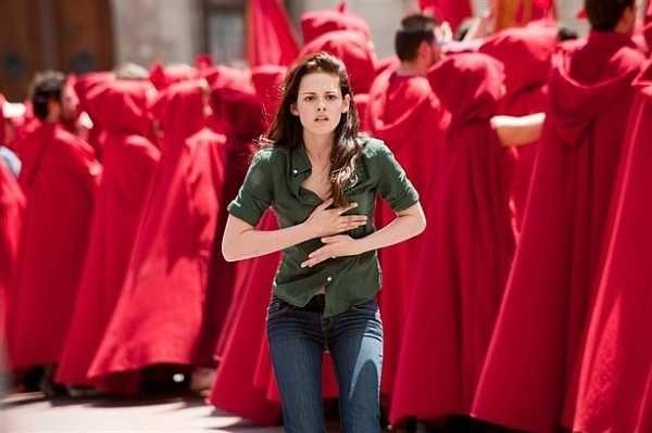 """Bella i jej tajemniczy znajomi w filmie """"Saga zmierzch. Księżyc w nowiu"""" w Ostrołęce"""