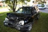 Wypadek na ulicy Bałtyckiej w Słupsku. Dwie osoby w szpitalu [ZDJĘCIA]