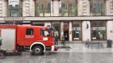 Pożar w Biurze Promocji Urzędu Miasta Łodzi przy ul. Piotrkowskiej