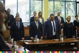 Radni sejmiku województwa podlaskiego uczcili dwiema minutami ciszy zmarłych Kornela Morawieckiego i Andrzeja Chmielewskiego