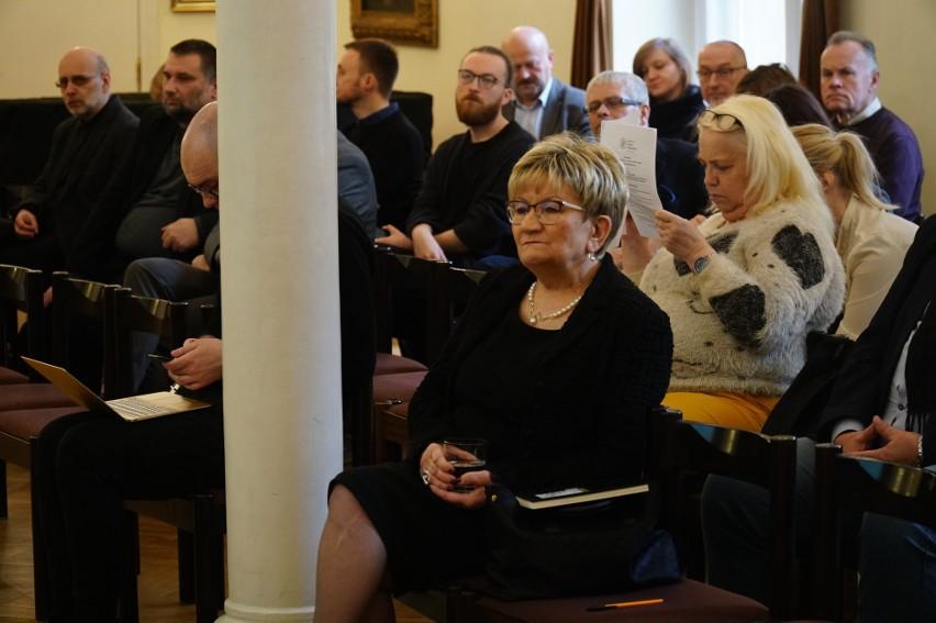 Wśród gości konferencji była przewodnicząca Gminy Żydowskiej...