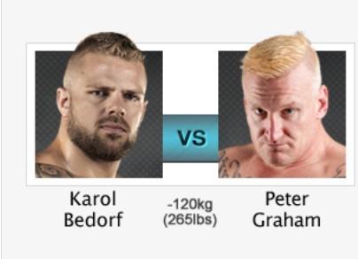 KSW 31 Gdańsk. Transmisja KSW 31 STREAM, KSW 31 gdzie oglądaćKarol Bedorf vs. Peter Graham