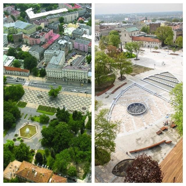 Sporo się zmieniło: plac Litewski wczoraj i dziś