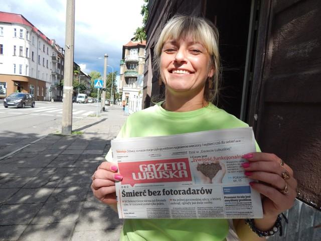 Aby zagłosować na Żabkę przy ul. Mieszka I, którą prowadzi Grażyna Rosiak, wyślij SMS: dsklep.41 pod numer 71321.