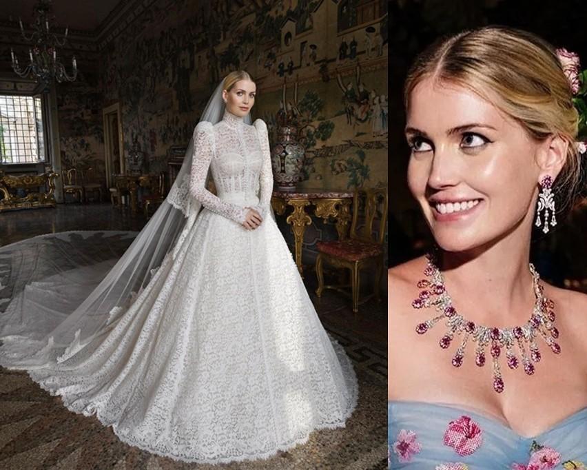 Kitty Spencer i jej znana na cały świat suknia ślubna