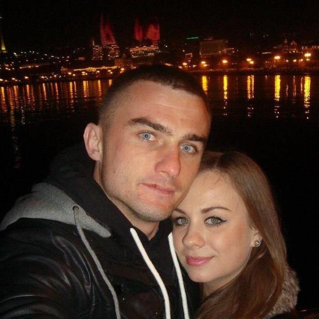 Magda i Dawid (na zdjęciu z Baku) 1 czerwca staną na ślubnym kobiercu.
