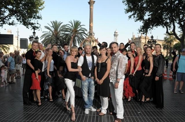 """Warsztaty uczestników programu """"You Can Dance"""" w Barcelonie"""