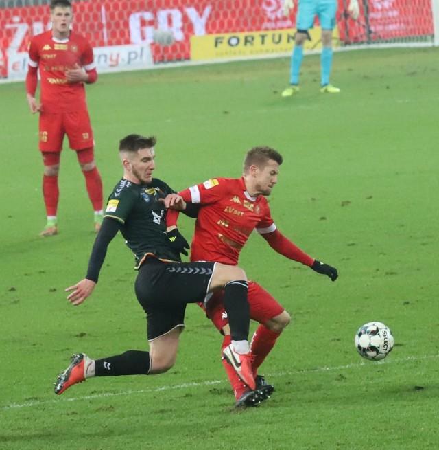 GKS Tychy po raz drugi w tym sezonie pokonał Widzew ŁódźZobacz kolejne zdjęcia. Przesuwaj zdjęcia w prawo - naciśnij strzałkę lub przycisk NASTĘPNE
