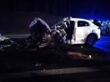 Perzów: Dwie osoby zginęły w wypadku na drodze S8