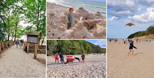 Koniec wakacji 2021 nad Bałtykiem. To ostatnie chwile relaksu na plaży, co widać na zdjęciach.