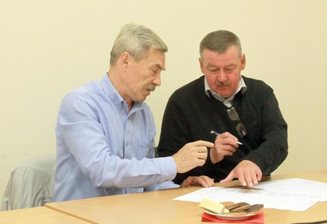 Tadeusz Gapiński i Wiesław Wraga – wielcy widzewiacy, do których Liverpool przysyłał życzenia