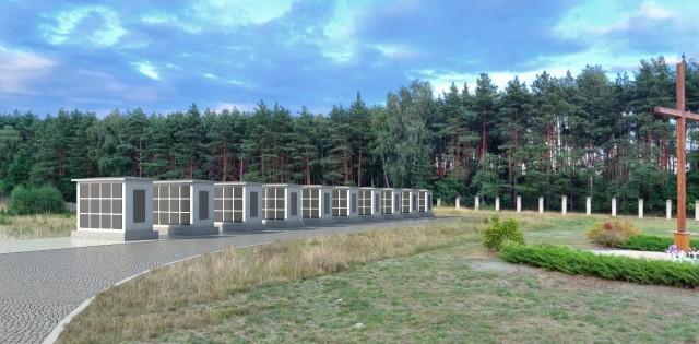Tak będzie wyglądać kolumbarium w Tucholi.