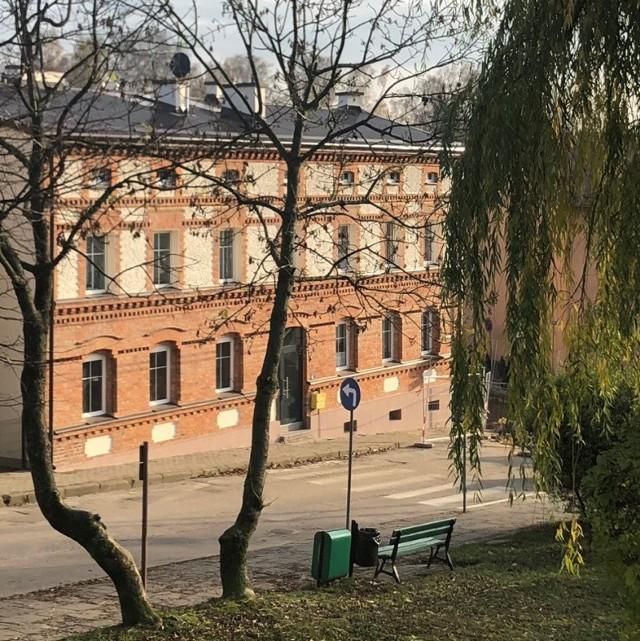 Odremontowane budynki w Bytowie.