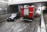 Krótka burza przeszła nad Łodzią i... ponownie został zalany tunel na ul. Niciarnianej [zdjęcia]