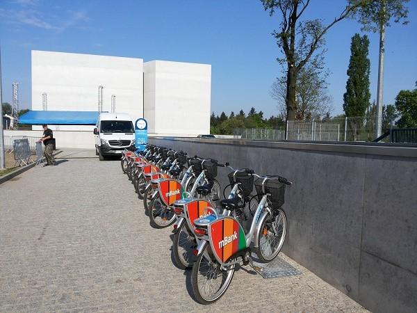 Nowe stacje Poznańskiego Roweru Miejskiego. Także przy ICHOT