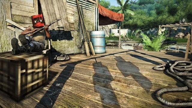 Far Cry 3Co wyjdzie z połączenia Far Cry 3 i Minecrafta?