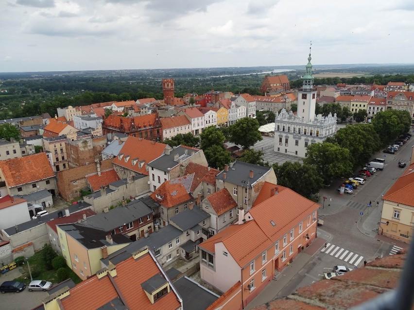 Chełmno - tak wygląda miasto z najwyższego punktu widokowego...