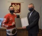 Mistrz Polski ze Stoku Polskiego nagrodzony przez burmistrza - ZDJĘCIA