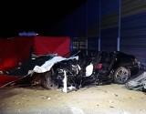 Śmiertelny wypadek na S8 pod Wieluniem. Nie żyje jedna osoba