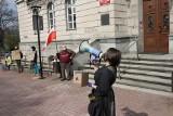 Mysłowice. Nie chcą kopalni Brzezinka 3: protest przed Urzędem Miasta. Radni również przeciwni prywatnej inwestycji