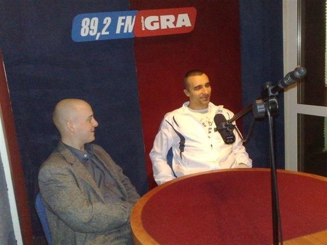 Hubert Hejman i Andrzej Pluta w Radiu Gra