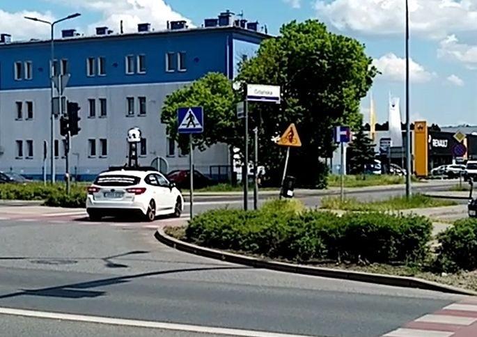 Samochód Apple Maps przyłapany na ulach Bydgoszczy. On robił...