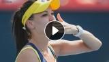 WTA Masters Singapur: Muguruza - Radwańska 1:2: Polka w finale turnieju Masters!