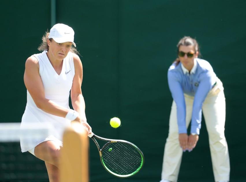 Wimbledon 01 07 2019 trzeci z czterech turniejow wielkiego szlema rozgrywany na trawiastych kortach wimbledonuna zdjeciu iga swiatekfot. andrzej szkocki / polska press