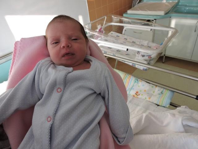 Alicja Gumkowska była jednym z pierwszych dzieci ostrołęczan, które przyszły na świat w ubiegłym roku.