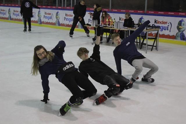 W katowickim Spodku odbyła się wielka impreza ice freestyle. Przyjechali uczestnicy z całej Polski
