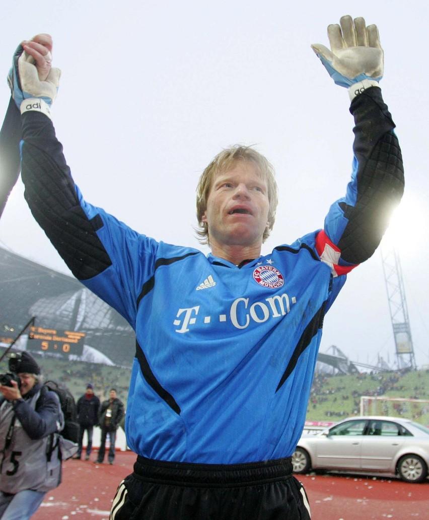 Bramkarz Bayernu Monachium Oliver Kahn okazał się dla Euzebiusza Smolarka zaporą nie do przebycia.