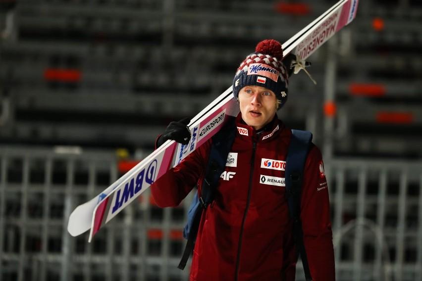 Skoczek narciarski....