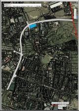 Katowice: Stęślickiego zostanie przedłużona do Siemianowic Śląskich MAPA