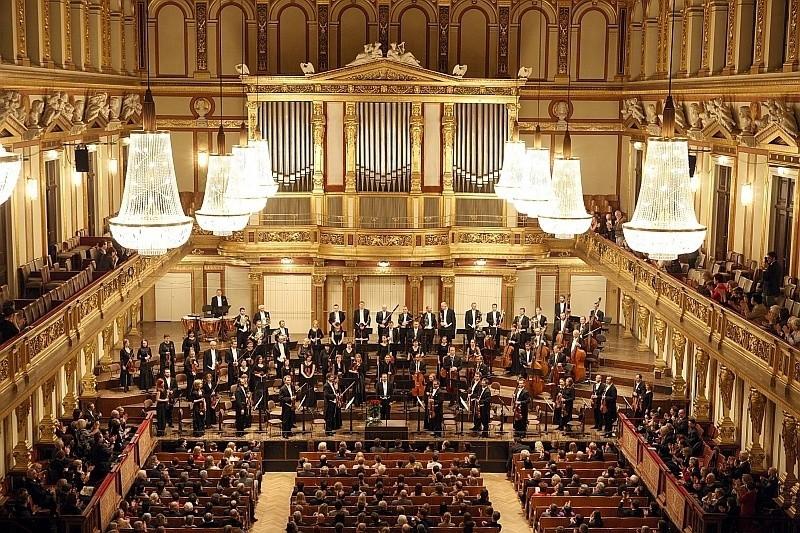 Zdjęcie z występu na Złotej Sali w Wiedniu.