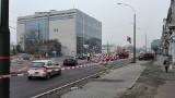 Utrudnienia na 3 Maja w centrum Sosnowca. Przy dworcu jedna jezdnia zamknięta ZDJĘCIA