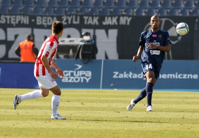 Hernani (z prawej) zagrał w każdym meczu bieżącego sezonu ekstraklasy.
