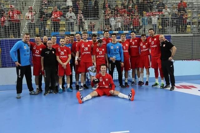 Polska reprezentacja piłkarzy ręcznych grała w Opolu podczas 4 Nations Cup.