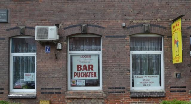 """Puchatek to znak rozpoznawczy Kupiecko-Wytwórczej Spółdzielni Pracy """"Społem"""" w Malborku"""
