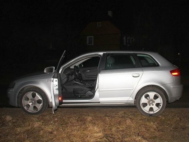 zatrzymała policja. Audi prowadził Litwin