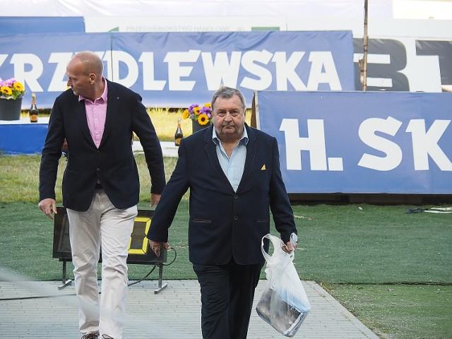 Przed sponsorem Orła Witoldem Skrzydlewskim wytężony okres pracy związanej z transferami