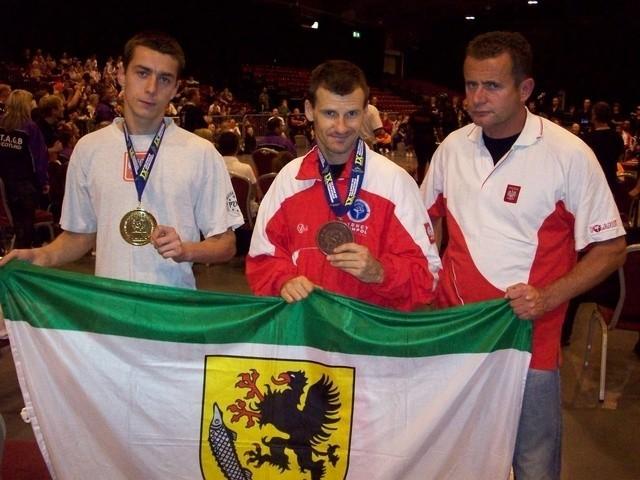 Od prawej: Damian Kowalczyk, Zbigniew Sotłys i Krzysztof Pajewski.