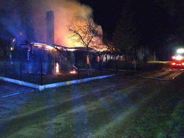 Pożar w Kiedrowicach