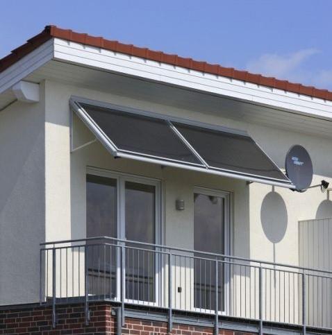 Kolektory słoneczne nie muszą być zlokalizowane na dachu.