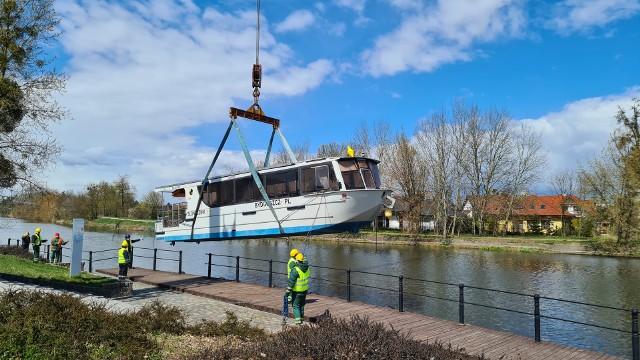 Bydgoski tramwaj wodny wraca na Brdę